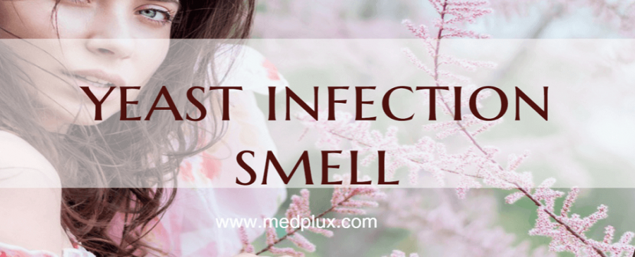 what does yeast infection smell like