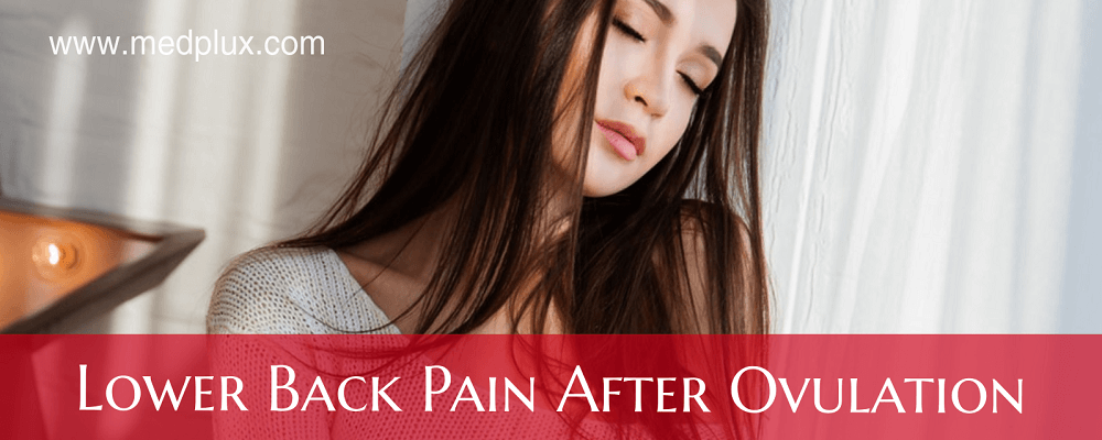 Lower Back Pain After Ovulation Pregnant or Not 4 MAIN Causes