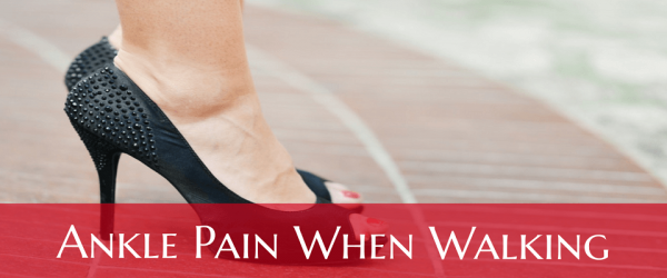 Ankle Pain When Walking Any Swelling