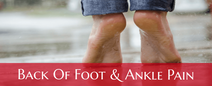 Back of Ankle Pain (Foot, Walking, Running, Morning)